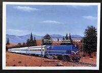 GUINEA TRAINS STAMPS S/S 1999 MNH EGYPTIAN RAILWAYS BO-BO  LOCOMOTIVE RAILROAD