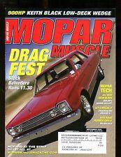 Mopar Muscle Magazine September 2005 Stock Belvedere EX w/ML 011717jhe