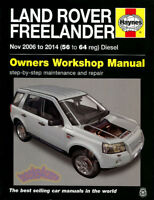 LR2 LAND ROVER SHOP MANUAL SERVICE REPAIR BOOK LR-2 FREELANDER HAYNES 2006-2014