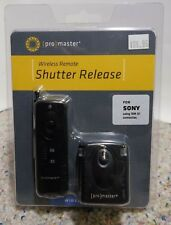 NEW Promaster wireless remote shutter release for Sony using RM-S1 #1943