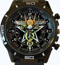 ROSSO Indiano Antico TOTEM ART Ophiuchus NUOVA GT Series Sport Unisex Watch