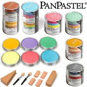 New PANPASTEL Ultra Soft Artists Painting Pastels Pans Pearlescent Metallic Sets