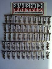 50 x TYCO AMP Loom Connector Terminals Ford Escort RS Turbo Sierra Cosworth BMW
