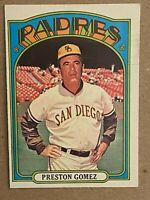 Topps 1972 #637 Preston Gomez - San Diego Padres