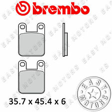 07BB12.05 COPPIA PASTIGLIE FRENO BREMBO POSTERIORE BETA TECHNO 250 96>