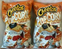 Frito Lay Cheetos Cheddar Popcorn Lot of 2-7 oz Best By 6/16/20