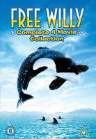 Free Willy 1-4 DVD Simon Wincer cert tc ***NEW*** FREE Shipping, Save £s