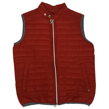 Gilet uomo SELIM P987 FIFTY FOUR Smanicato rosso man S L giacca