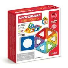 Magformers Basic Plus Magnetic Construction 14 Piece Set
