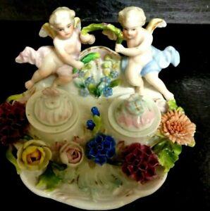 Antique ORIGINAL 1700's Meissen European ? Porcelain Figurine Estate Find
