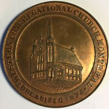 CANADA Montreal Western Congregational Church Leroux 1440 45mm BRONZE Inv 4387
