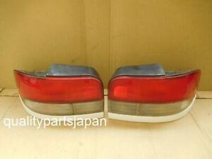 Subaru Impreza GF8 Wagon WRX STI Tail Lights Rear Lamps White GF GF2 GF1