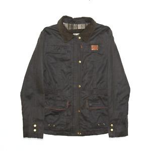 DIESEL Green Regular Outdoor Jacket Womens S