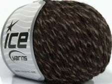 Chocolate Twist #48634 Ice Merino Wool Acrylic Blend Yarn Browns 50gr 98yd Sale!
