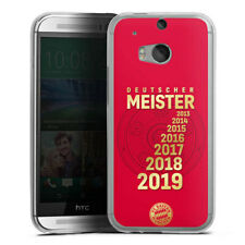 HTC One M8 Handyhülle Silikon Hülle Case - 7X MEISTER - FCB