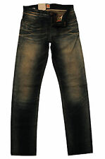 NEU W30/L34 HUGO BOSS JEANS ORANGE 63 CRUNCH SELVAGE SLIM FIT 30/34 50196581