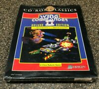 Wing Commander II 2 Deluxe Edition Origin IBM/PC Special Operations 1 & 2 - NEW