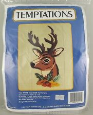 Temptations Plastic Canvas Kit Needlepoint White Tail Deer Buck 1122 NOS