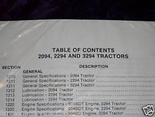 Case 2094/2294/3294 Tractors Service Manual