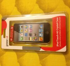NEW Groove-E IPod Touch 4G Crystal Case Cover Screen Protector & Cleaning Cloth