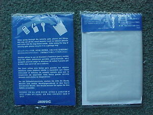 2002 World Cup Official JAWOC packet with plastic Security bag -  MINT CONDITION
