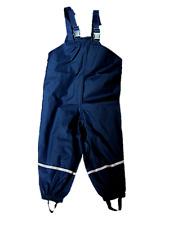 Playshoes Regenhose, blau, Gr. 104