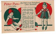 VINTAGE ADVERTISING 1930'S-GREEN BROS.-TASTYEAST CANDY -PETER PAN DOLL OFFER**