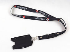 Resident Evil Umbrella Lanyard Neck Strap Two Sided ID Holder Card Holder
