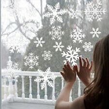Christmas Snowflake Sticker Decorations Home Window Xmas Hanging Decal Ornaments