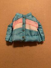 Blythe Doll Puffer Jacket Teal Pink White Stock Takara