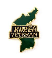 Wholesale Lot Of 12 Korea Veteran Lapel Hat Pin Military Marines Army PPM743