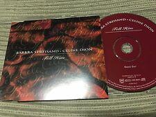 BARBRA STREISAND / CELINE DION - TELL HIM radio edit CD SINGLE 1 TRACK PROMO EU