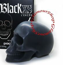 Paco Rabanne Black XS L'Exces Skull Candle new in gift box