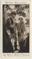 Betty Compson + Ian Keith 1931 Wills Cinema Stars Tobacco Card #36