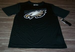 PHILADELPHIA EAGLES NFL FOOTBALL PULLOVER Coolbase JERSEY T-SHIRT SMALL NEW