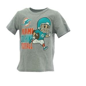 Miami Dolphins Official NFL Team Apparel Baby Infant Toddler Size T-Shirt New
