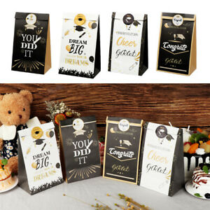 Gift DIY Stickers Gift Boxes Candy Box Graduation Paper Bag Food Packaging