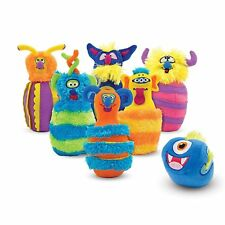 Melissa And Doug Monster Bowling Play Set NEW Toys Kids Fun Music