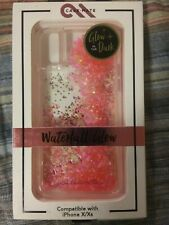 iPhone X/XS Case-mate Pink Waterfall Glow in the Dark case NEW