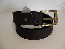 "Genuine Buffalo leather handmade 100% brown belt adjustable 42"" eagle print"
