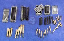 Verlinden 1/35 37mm & 57mm Tank Ammo Shells & Crates for M3 Stuart Lee/Grant 776