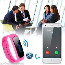 Bluetooth4.0 Smart Watch Wristband Health Bracelet Sport Sleep Fitness TrackerUS