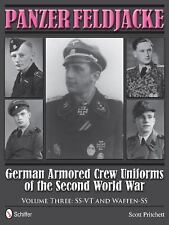 WW2 German Armored Crew Uniforms Panzer Feldjacke Volume 3 Reference Book