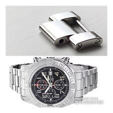 2 x perfette condizioni garantito autentico Breitling Link-Super Avenger A13371