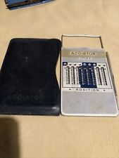 Vintage Duplex Addiator, Leather Case With Stylus But No Instruction Leaflet