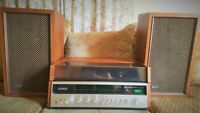 Sony Stereo Music System HP-610 with two speakers. Tested and working!