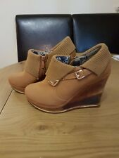Ladies Womens High Heels Platform  Shoes Size 6