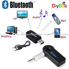 3.5mm Bluetooth 3.0 Wireless Mono Audio Music Receiver Car AUX Speaker Adapter
