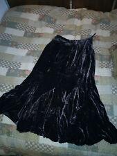 """Monsoon Brown Velvet Skirt 30"""" Waist - UK 10 / 12"""