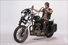 DARYL DIXON with Chopper Bike Motorrad The Walking Dead (TV) McFarlane Toys